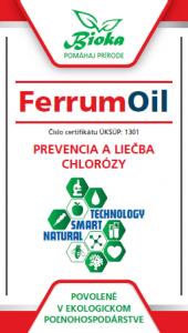 Bioka s.r.o. FerrumOil listové hnojivo, insekticíd, zmáčadlo