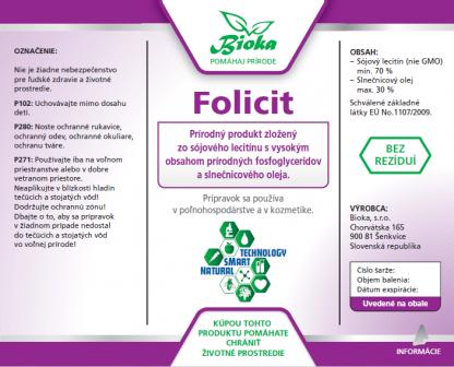 Folicit 1L etiketa