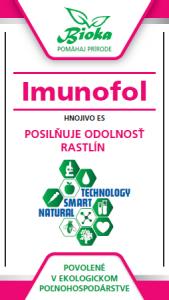 Bioka s.r.o. Imunofol listové hnojivo