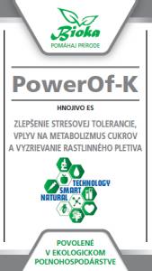 Bioka s.r.o. PowerOf-K listové hnojivo