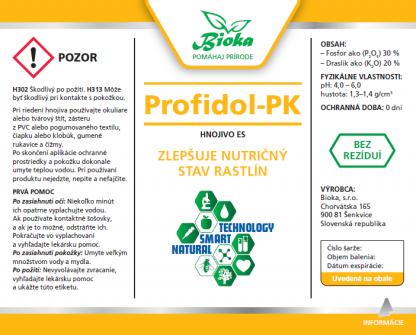 Profidol-PK 1L etiketa