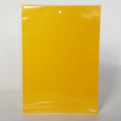 Žltá lepová doštička