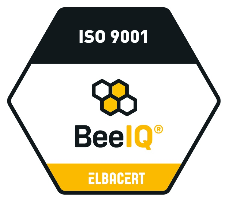 Certifikačná značka pre ISO 9001:2015 - spol. Elbacert
